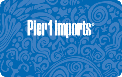Pier 1 Imports $25 Gift Certificate