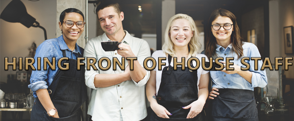 Hiring Front of House Staff