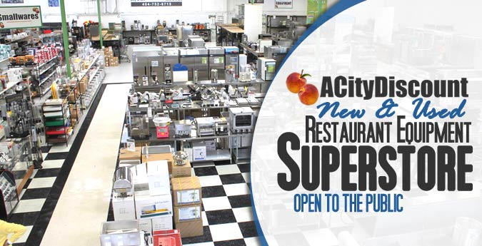 ACityDiscount SuperStore Restaurant Equipment Showroom