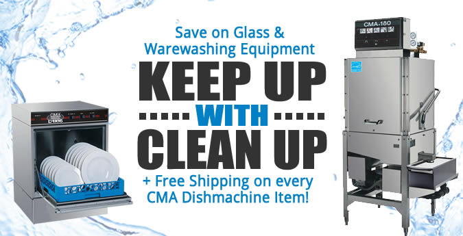 Save Big This Summer On CMA Dishmachines