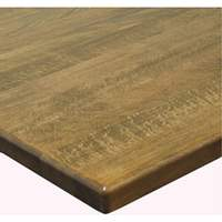 H&D Commercial Seating TWD2430 24 x 30 Solid Wood Table Top with Finish Options