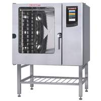 Gas Boilerless Convection Combination Ovens With Full Size Pan