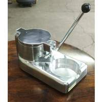Hebvest Manual Four Inch Patty Press - PP04HD