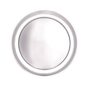 Adcraft PZ-TP12 1dz., 12 Wide Rim Aluminum Pizza Trays