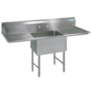 Bk resources bks6 1 1620 14 18ts 16x20x14 one compartment 16 bk resources bks6 1 1620 14 18ts 16x20x14 one compartment 16 gauge stainless steel sink workwithnaturefo