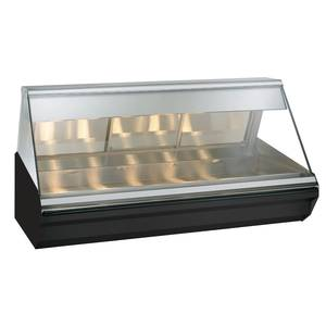 Alto-Shaam Halo Heat® 72 Countertop Heated Display Case - Black - EC2-72/PL-BLK