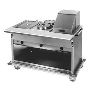 Eagle Group Deluxe Service Mate 88.75W Counter Top Buffet Hot Food Unit - PHT5CB-208