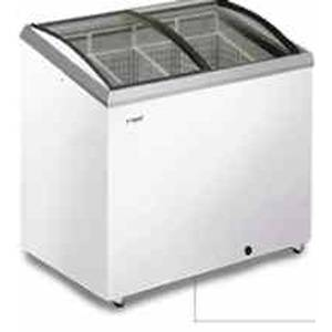 Caravell AST-41 8.5 Cu.Ft Classic Angle Top Freezer Merchandiser