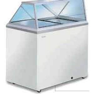 Caravell CDC-30 4 Flavor Classic Ice Cream Freezer Dipping Cabinet 6.7 CuFt