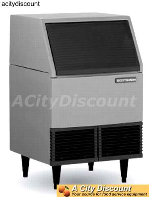 Scotsman 110lb Ice Maker Self Contained Cubed Ice Machine - SCE170*-1H