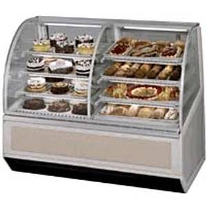 Federal SN77-3SC 77in Commercial Dual Zone Refrigerated Dry Bakery Case