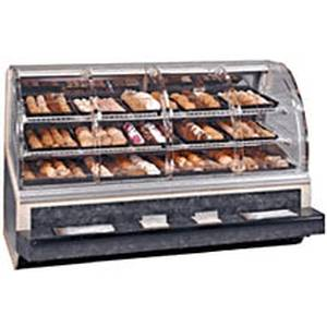Federal SN-77-SS 77in Non-Refrigerated Dry Bakery Deli Case Self Serve