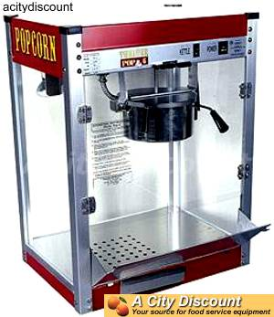Popcorn Machine Paragon 6oz Theater Brand Kettle Popper - 1106110