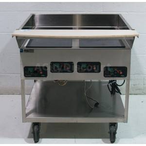 Used SR-1151B-1W Stainless 4 Burner Mr. Induction Cook Top Range