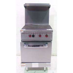 Vulcan EV24S-Y3S Commercial Stainless Electric French Top Range Oven