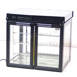 Used Hatco LFST-2X 33 Counter Top Hot Food Display Case Merchandiser
