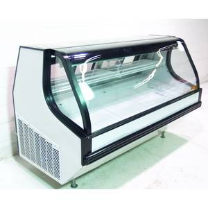 Used Tor-Rey Refrigeration 79 Refrigerated Meat & Deli Case 55 Cu.Ft Curved Glass - VTA-200L-UL