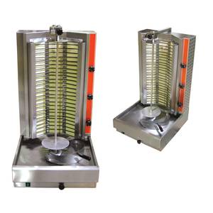 PE2 Vertical Gyro Shawarma Broiler Stainless Steel