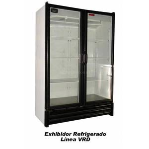 Tor-Rey Refrigeration VRD-28 25 Cu.Ft Display Commercial Cooler 2 Self Closing Glass Door
