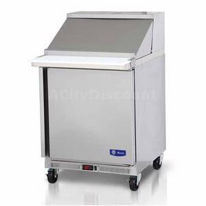 Migali G3-SP27-12BT Commercial 27 Big Top Sandwich Prep Unit Cooler 12 Pans