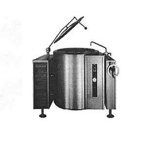 Market Forge FT-40GL 40 Gallon Commercial Gas Steam Jacketed Tilting Kettle