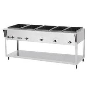 Vollrath 38215 ServeWell SL 5 Well S/s Hot Food Steam Table Electric 3500W