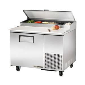 True 11.4 Cu.Ft S/s Pizza Prep Cooler W/ Cutting Board - TPP-44