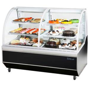 Turbo Air TCB-5R 59in Refrigerated Bakery Display Case Dry 18.6 CuFt Storage