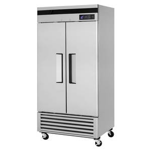 Turbo Air 35cf Commercial Reach-In Freezer with 2 Solid S/s Doors - TSF-35SD
