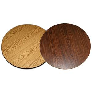 All About Furniture DT48R Reversible 48 Round Wood Grain Restaurant Dining Table Top