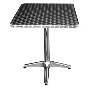 All About Furniture Outdoor Stainless Patio Dining Table 32 x 32 Square - OST3232