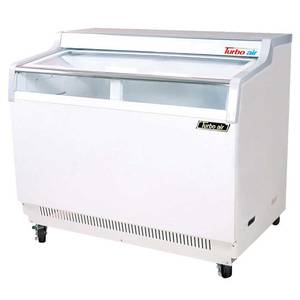 Turbo Air TGF-9F 8.5cf Commercial Ice Cream Freezer with 1 Glass Slide Lid