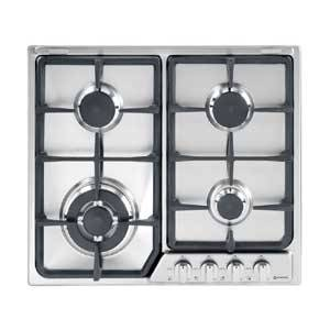 Verona VEGCT424SS 24 Gas 4 Burner Residential Cook Top w/ Front Controls