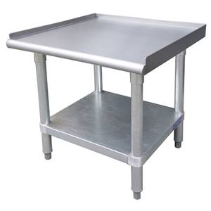 ES-S3060 Stainless Equipment Stand 30 x 60 Galvanized Base & Legs
