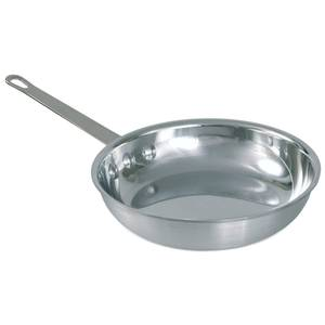 Crestware Polished Aluminum 8.5in Fry Pan w/ Handle - FRY08