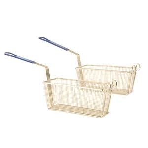 Crestware Deep Fry Baskets 12-1/8in x 6-5/16in x 5-5/16in - DFB12