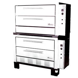 Peerless Ovens CE62P 4 Door Electric Pizza Oven Four 42x32x1 Hearth Decks