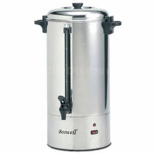 Boswell PC 190C/290C 100 Cup Coffee Percolator Stainless Steel - Showroom Stk