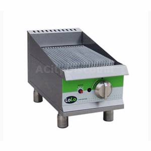 LoLo LCB15RMPF 15 Natural Gas Charbroiler Counter Top Manual Controls