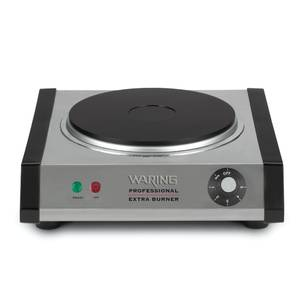 Waring WEB300 Commercial Single Burner Hot Plate Cast Iron 120v
