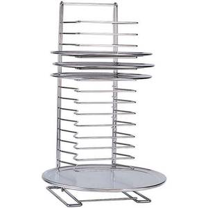 Adcraft 27 High 15 Slot Chrome Plated Pizza Rack - PZ-19029