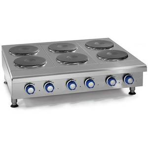 Imperial Range 48 Countertop Electric Hotplate with (8) 2kw Burners - IHPA-8-48-E