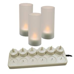 Update 12 Piece Set Flameless LED Candle - CDL-12S