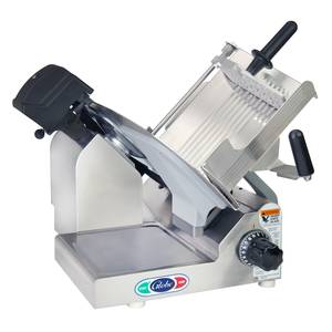 Globe 3600NF 13 Manual Frozen Meat Slicer Stainless .5 HP