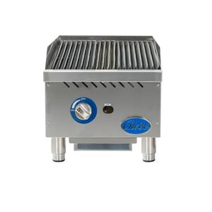 Globe 15 Stainless Steel Radiant Charbroiler Natural Gas - GCB15G-SR