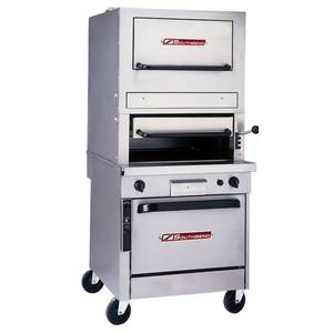 Southbend P32N-171 32 Gas Infrared Upright Broiler with Warming Oven