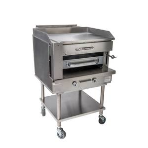 Southbend 36 Counter Top Gas Steakhouse Broiler Griddle w/ Stand - SSB-36