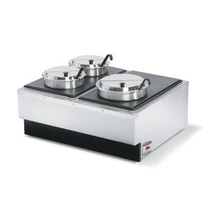 Vollrath Cayenne Dual Food Warmer Full-Size 1400W - 72789