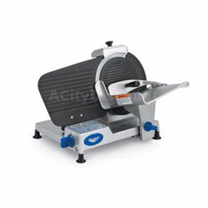 Vollrath 10 Belt Driven Manual Meat Slicer Light Duty Non-Stick - 40803