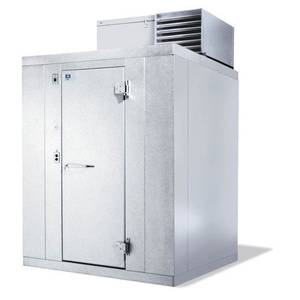 Kolpak 6' x 10' Walk-In Cooler Top Mount 7'6 High With Floor - QS7-610-CT